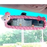 41nc3EZpypL. SL160  Sanrio Hello Kitty Car Rear View Mirror Cover pink