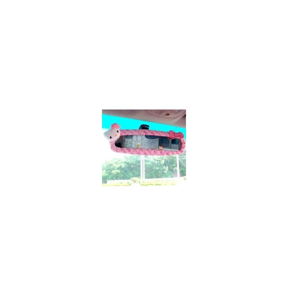 Sanrio Hello Kitty Car Rear View Mirror Cover pink  Sports