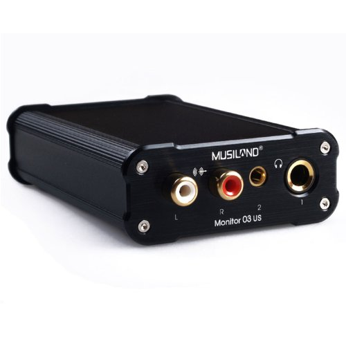 Musiland 03US Sound Card Digital Stereo 32bit 384KHz High Quality USB3.0 Power Supply With ASIO Black