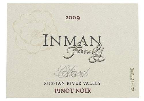 2009 Inman Ogv Estate Russian River Valley Pinot Noir 750 Ml
