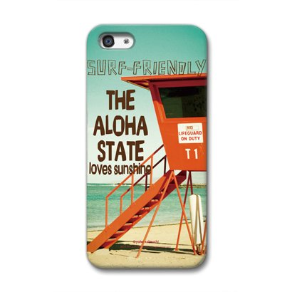 CollaBorn iPhone5専用スマートフォンケース Life on the beach 【iPhone5対応】 OS-I5-202
