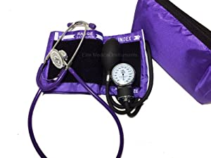 manual bp cuff and stethoscope