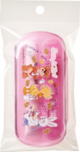 スージーズー コンパクトケース付き歯ブラシ ピンク