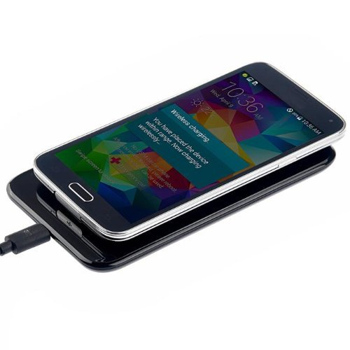 Itrendz(Tm) Qi Standard Wireless Charger Receiver Pad For All Qi Compatible Devices Including Nexus 5, Samsung Galaxy S5 Sv And Other Phones With Receivers & Iphone With Iqi Mobile