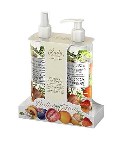 Rudy Profumi Kit de Cuerpo 2 Piezas Italian Fruits Cocoa Strawberry
