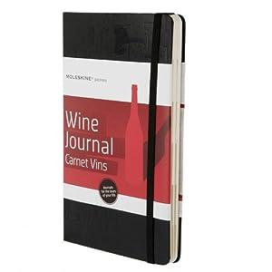 Moleskine Moleskine Passion Journal - Wine, Large, Hard Cover - Black