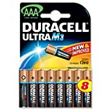 Duracell Ultra Power MX2400 Battery Alkaline 1.5V AAA [ x 8] 81235515