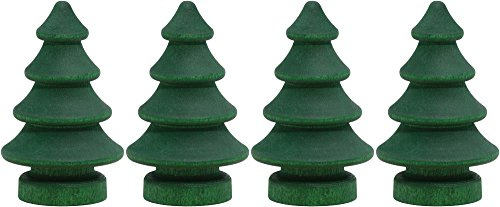 NameTrain Trees - Made in USA - 4 pk