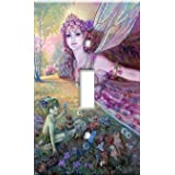 Fairies Decorative Switch Plate
