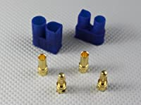 US Ship 10x Pair EC3 Connectors 3.5mm Bullet Male & Female For Lipo Battery, ESC from AMASS