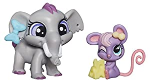 Littlest Pet Shop, Pet Pawsabilities, Fletcher von Trunk Teensie Fromage [Elephant & Mouse]