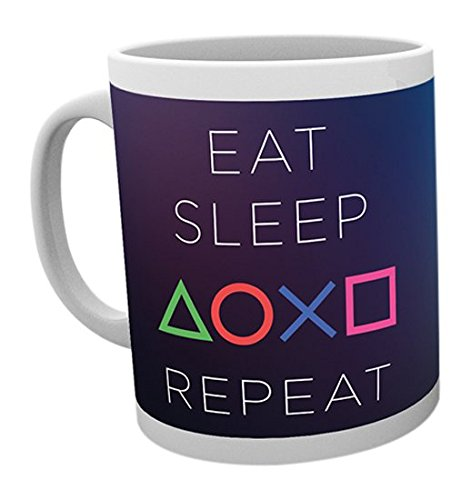 GB Eye Ltd, Playstation, Eat Sleep Repeat, Tazza