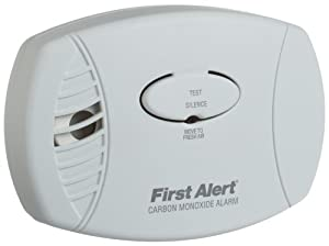 First Alert CO600 Plug In Carbon Monoxide Alarm
