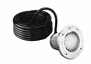 Pentair 78108100 Stainless Steel SpaBrite Incandescent Light for Swimming Pool 120-Volt 100-Watt, 50-Feet Cord (Discontinued by Manufacturer)