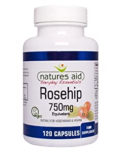 The Healthy Option Rosehip 750Mg - 120 Vcaps