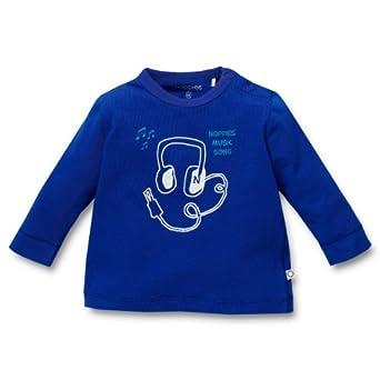 Noppies Baby - Jungen Shirt 24400-Tee Fujara, Gr. 56, Blau (blue)