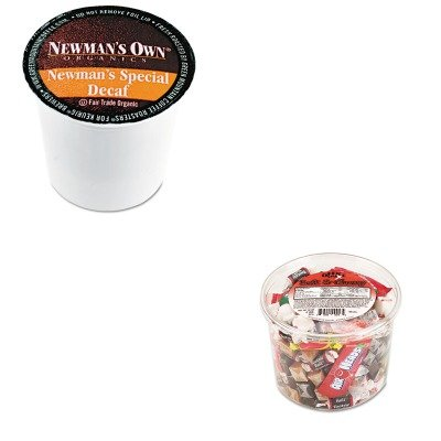 Kitgmt4051Ofx00013 - Value Kit - Green Mountain Coffee Roasters Special Decaf K-Cups (Gmt4051) And Office Snax Soft Amp;Amp; Chewy Mix (Ofx00013)
