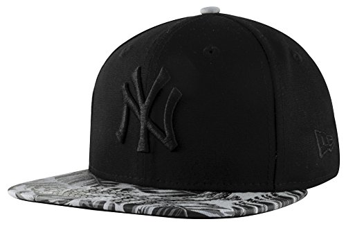 Bambini New Era Fit originale 9Fifty New York NY Yankees MLB Canvas Palm Jr Snapback Cappello da baseball Dimensione Gioventù AGE 6-10