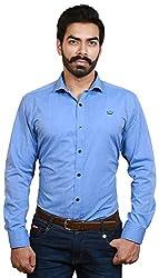 GOSWHIT Men's Casual Shirt - M