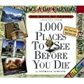 1,000 Places to See Before You Die Page-A-Day Calendar: 365 Days of Travel