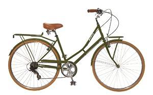 City Bike , Commuting bicycle 700C , Olive Green , 7 speed Shimano Women's by Biria