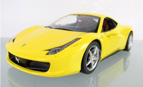 1:14 Ferrari 458 Italia Remote Control Car R/c Car Model 47300-yellow (Ships By Expedite)