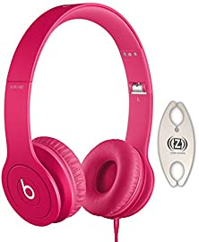 buy Beats By Dr. Dre Solo Drenched In Magenta On-Ear Headphones Carry Pack With Wire Holder