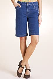 Per Una Cotton Rich Denim Shorts [T62-4604I-S]