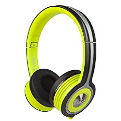Monster MH-ISRT-FRE-ON-GR-BT-WW Bluetooth On-Ear Headphones (Green)