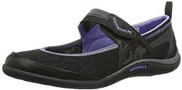 Merrell Women\'s Enlighten Eluma Breeze Slip-On Shoe,Black,7.5 M US