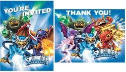 Skylanders Invitations & Thank-You Postcards (Sold by 1 pack of 24 items) PROD-ID : 1889626