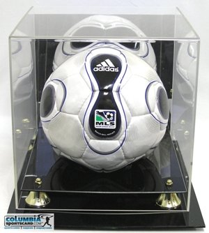 Deluxe Acrylic Full Size Soccer Display Case (Gold Ball Display compare prices)