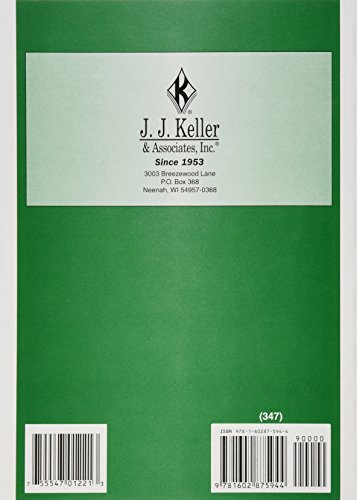 J J Keller 103 Federal Motor Carrier Safety Regulations