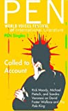img - for Called to Account: The Pale King by David Foster Wallace (PEN Singles) book / textbook / text book