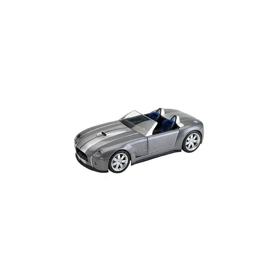 Mattel Hot Wheels   Ford Shelby Cobra Convertible (118, Silver) diecast car model