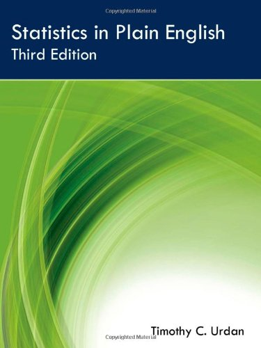 Statistics Course Pack Set 1 Op: Statistics in Plain English, Third Edition