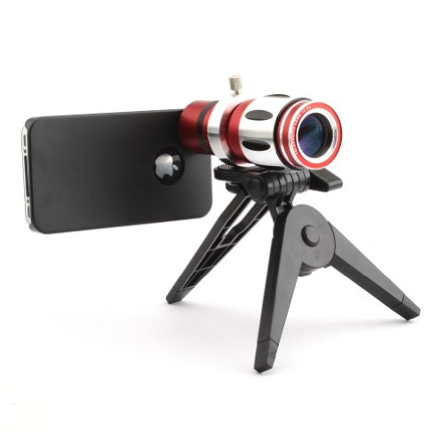 Neewer® 12.5X Optical Zoom Aluminum Telephoto Lens For Iphone 4/4S