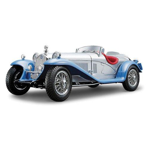 bburago-alfa-romeo-8c-2300-spider-touring-silver-118-scale-diecast-car-silver