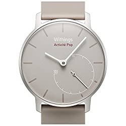 Withings Activite Pop Activity, Swimming and Sleep Tracking Watch (Sand)