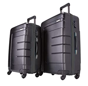 Travelite Koffer-Set Vector 4 W L/M, Schwarz