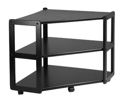 Image of Derby Corner TV Stand with shelf (B003LRKIXS)