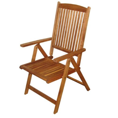 Camelot Recliner Garden Furniture Hardwood Chair - FREE* Delivery