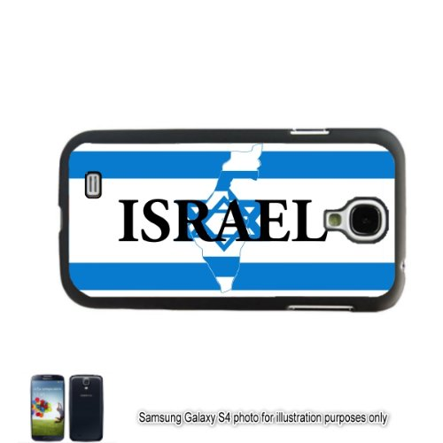 Israel Hebrew Jewish Shape Name Flag Samsung Galaxy S Iv S4 Gt-I9500 Case Cover Skin Black front-50449
