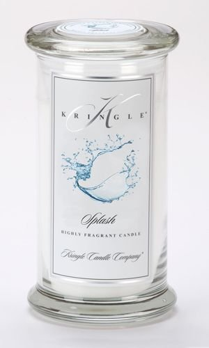 Kringle Candle Company Large Classic Apothecary Jar - Splash