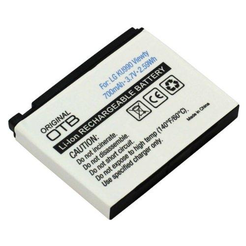 Akku-Boom* Akku Ersatzakku für LG KU990 Viewty / KC910 / HB620T Li-Ion