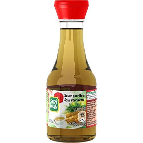 Suzi Wan - Sauce pour nems - Le flacon de 125ml - (pour la quantité plus que 1 nous vous remboursons le port supplémentaire)