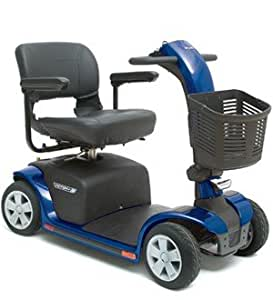 Pride Mobility VICTORY9 4 Wheel Scooter Vipor Blue