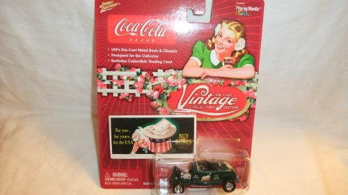 JOHNNY LIGHTNING COCA-COLA VINTAGE COLLECTOR'S EDITION 1932 FORD HIGHBOY DIE-CAST COLLECTIBLE