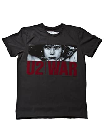 Amplified Men's U2 War T-shirt (L)