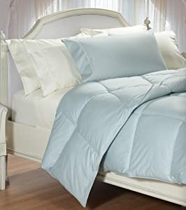 Amazon Com Cuddledown 400tc Colored Synthetic Comforter